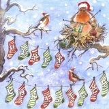 Mrs Robin Knits Christmas (card)