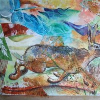 Patchwork Hare (sold)