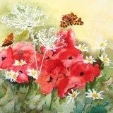 Poppies & Butterflies (Sold)