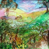 Spring Hedgerow (card)