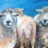 Sheep behaving badly (Sold)