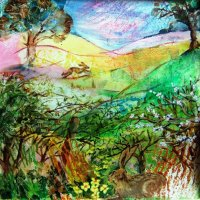 Spring Hedgerow (sold)