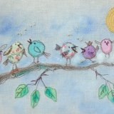 The Littlest Birds Sing the Prettiest Songs (Be Good Tanyas) Textile £45