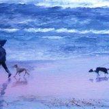Walkies on the Beach 1 (Sold)