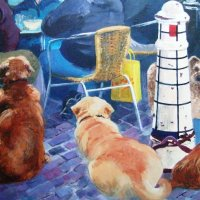 Dogs'  dinner (sold)