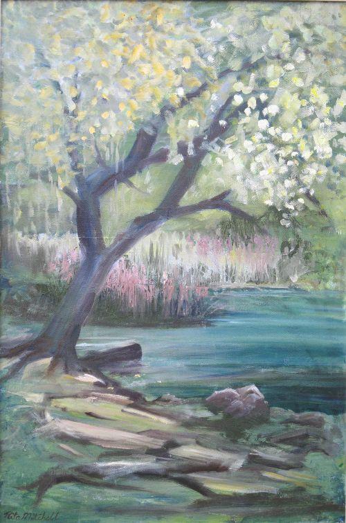 Rita Mitchell:<br><l>Attenborough in Spring</l>