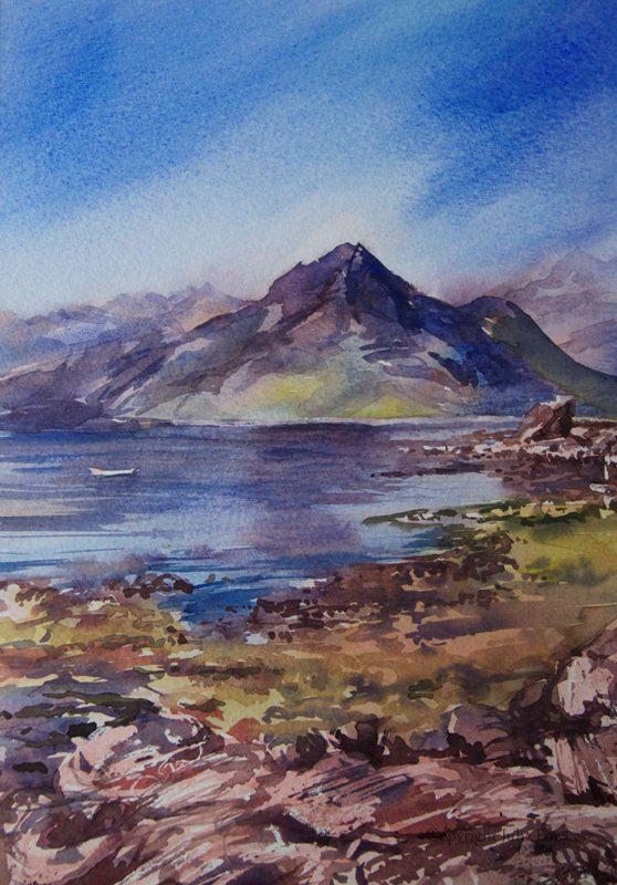 Julia Fowkes:<br><I>Cullins - Isle of Skye</I>