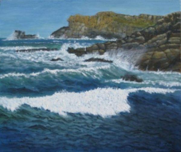 Richard Eddleston:<br><I>Hell's Bay, Bryher</I>
