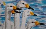 Janet Waters:Bewick Swans