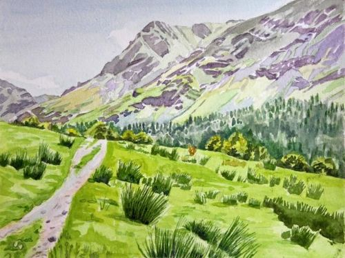 Janet Waters:<br><I>Buttermere</I>