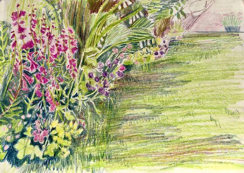 Janet Waters - In the garden