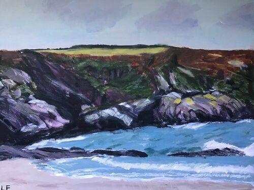 Lynne Francis - Pencarnan Porthselau (Painting)