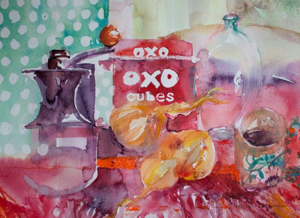 Julia Fowkes:<br><I>Oxo and Onions</I>