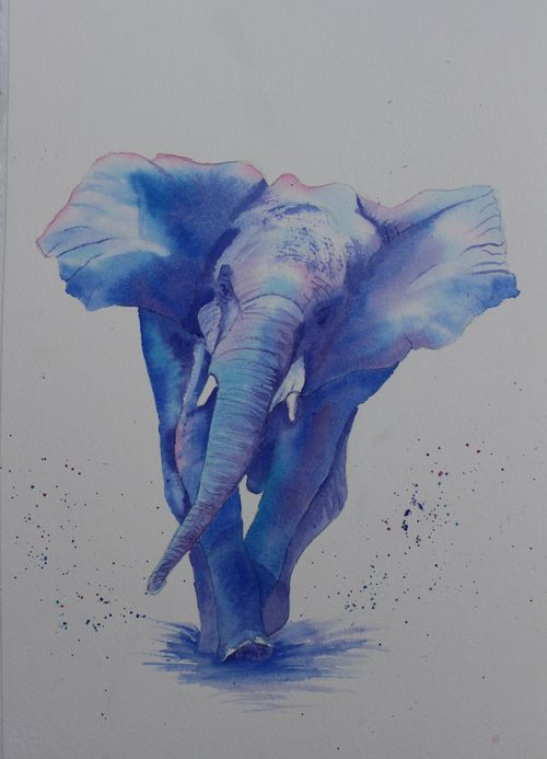 Pam Earlam: <br><I>BLUE ELEPHANT</I>