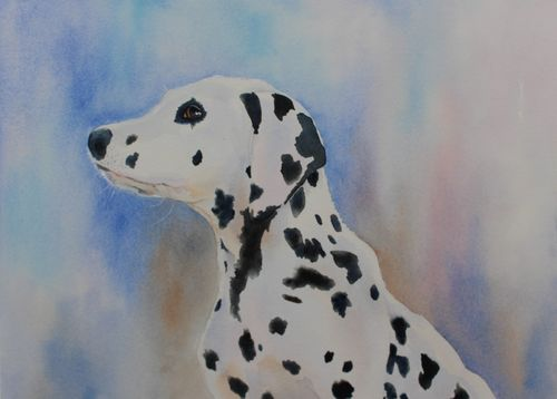 Pam Earlam: <br><I>SPOTTED DOG</I>