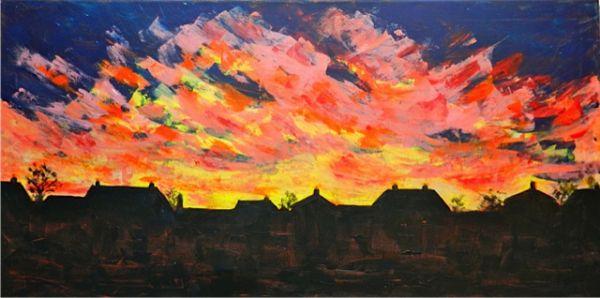 Cathy Parfitt:<br><I>Beeston Sunrise</I>