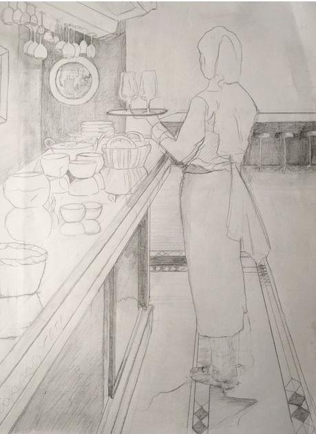 Rita Mitchell - Bar - Part 1