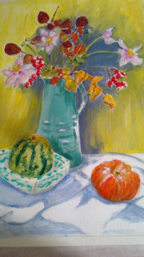 Sandra Everitt - Autumn Still Life