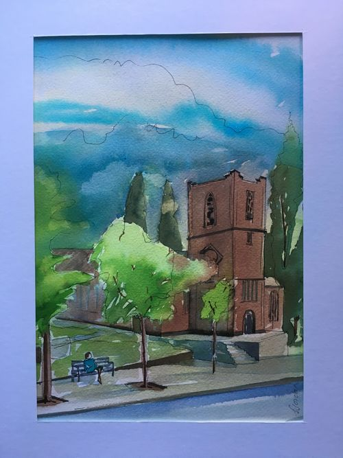Sarah Jordan:<br><i>St Nics, Nottingham</i>