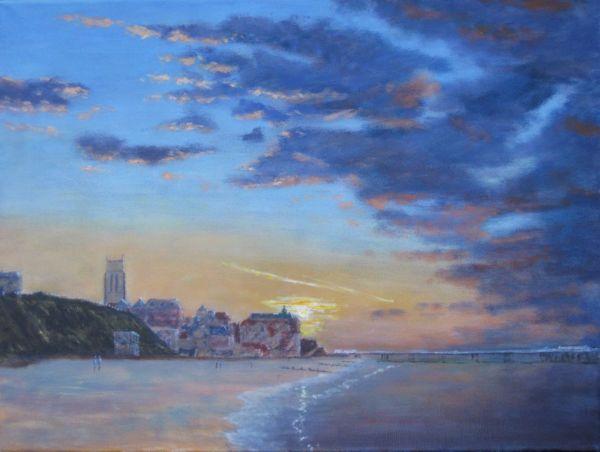 Richard Eddleston:<br><I>Setting Sun - Cromer</I>