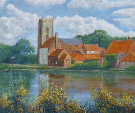 Richard Eddleston:<br><I>Summer - Great Massingham</I>