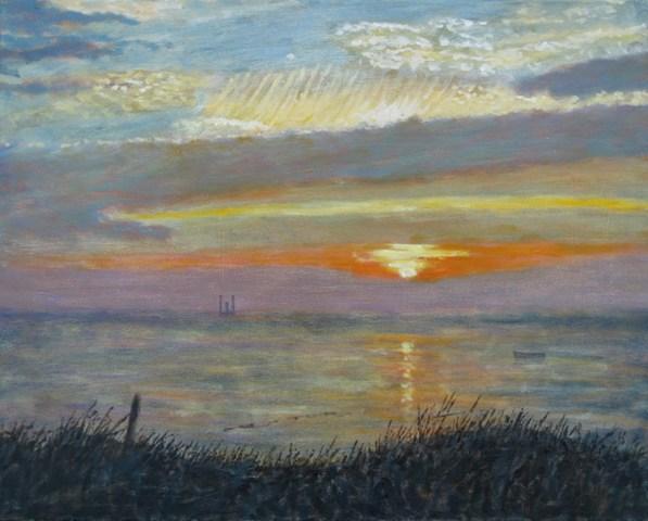 Richard Eddleston:<br><I>Sunset of Capitalism</I>