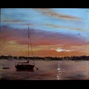 Richard Eddleston:Wells Harbour Sunrise