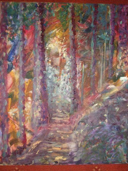 Linda Sadler:<br><I>Woodland</I>