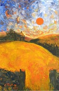 Cathy Parfitt:<br><I>Summer Sunset II </I>