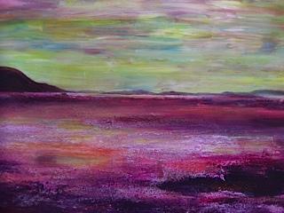Cathy Parfitt:<br><I>Sunset West Shore Llandudno</I>