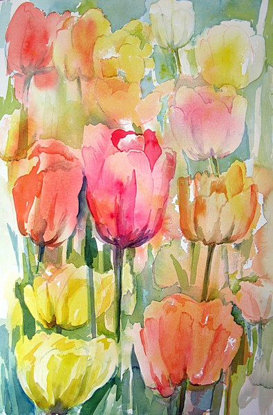 Janet Waters:<br><I>Tulips</I>