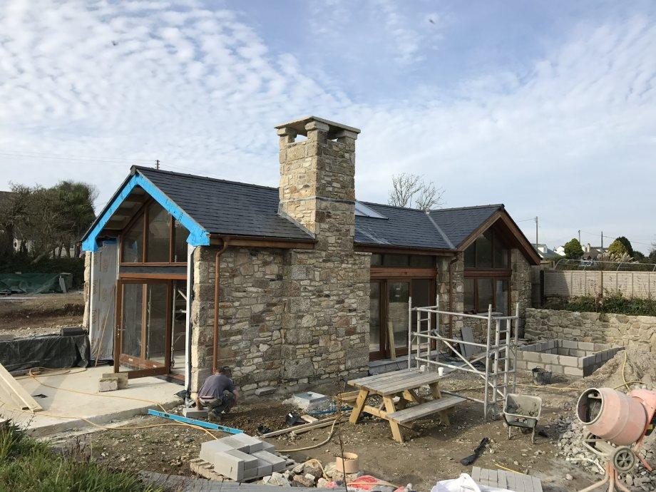 Timber frame Barn New Build
