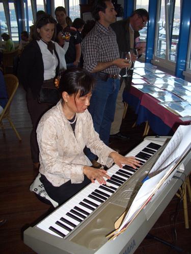 Rika performing
