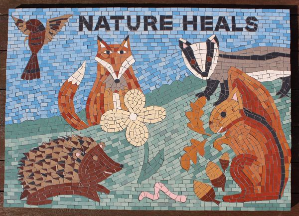 Barnsley Metropolitan Borough Council mosaic commission - Athersley Wood