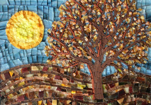 FOUR SEASONS - AUTUMN MOSAIC £220