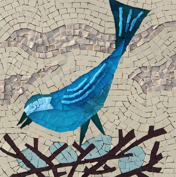 BLUE BIRD MOSAIC £190