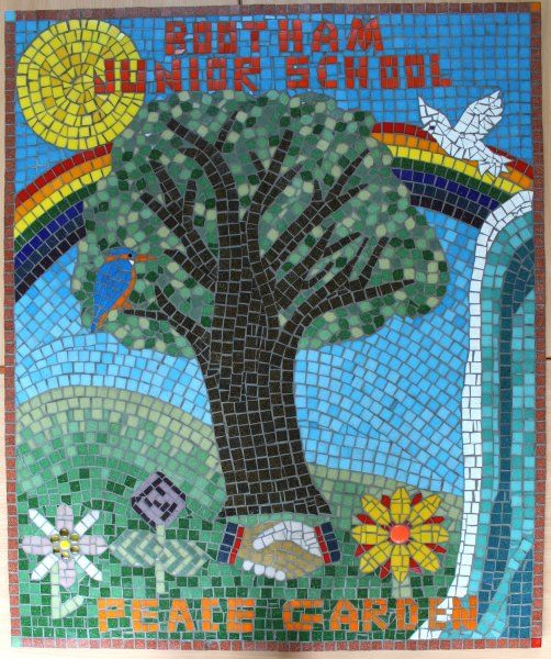 Bootham Junior school mosaic