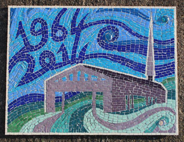 Mosaic art created with congregation of Christchurch, York