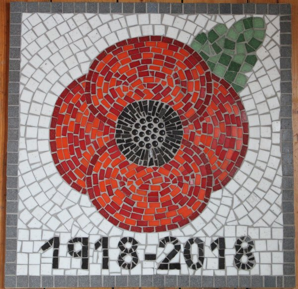 Church of Saint Mary Magdalene Whitgift mosaic created with Reedness Primary School
