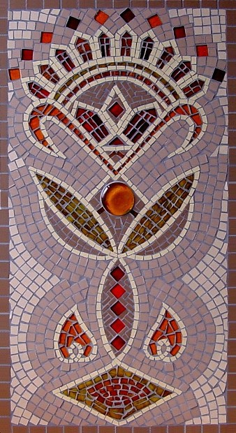 INDIAN TRIBAL RELIEF MOSAIC £250