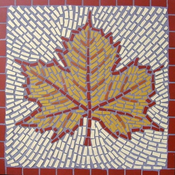 MAPLE LEAF MOSAIC £190