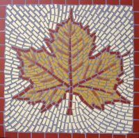 MAPLE LEAF MOSAIC£190 incl. p&p