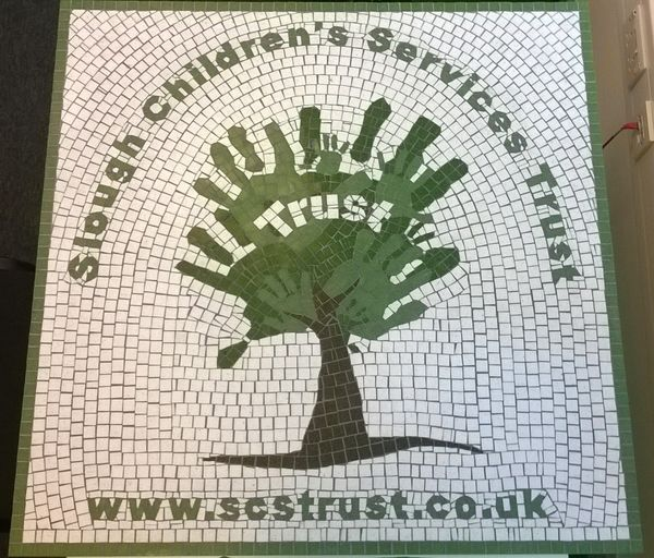 Slough Children's Services Trust mosaic commission