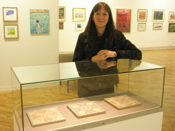 Sue Kershaw, Mosaic Artist, Ferens Gallery, Hull