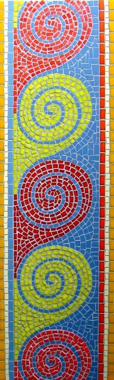 ROMAN WAVES MOSAIC £395