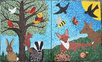 WOODLAND SCHOOL MOSAIC