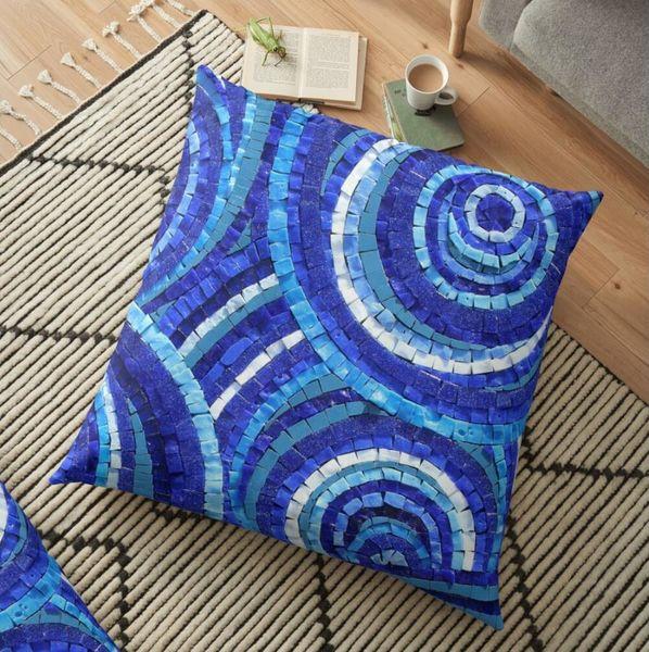 Floor cushions - mosaic