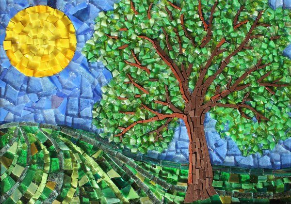 FOUR SEASONS - SUMMER MOSAIC £220