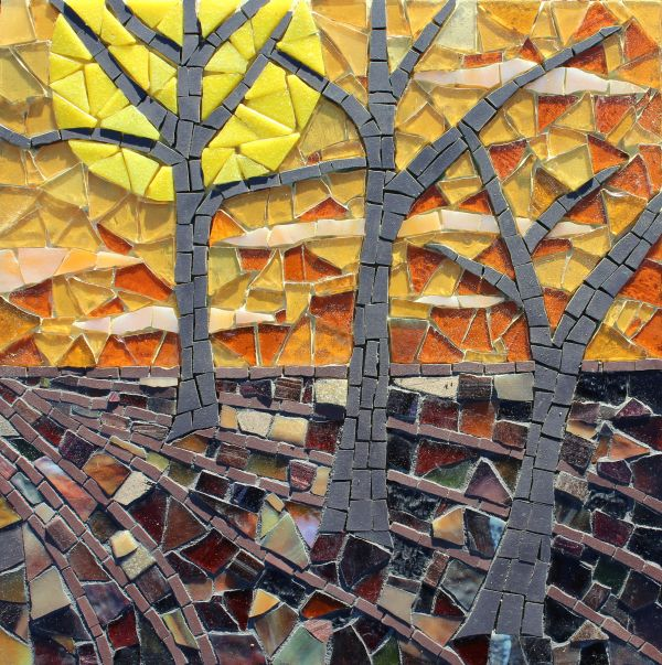 SUNSET MOSAIC £190