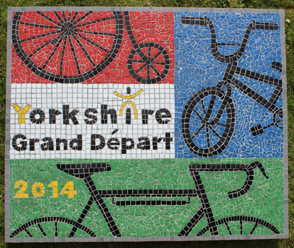 Tour de France mosaic commission